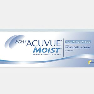 1 Day Acuvue Moist<br><small>para Astigmatismo</small>