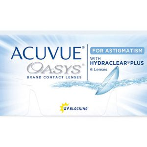 Acuvue Oasys<br><small>para Astigmatismo</small>
